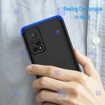 قاب محافظ با پوشش 360 درجه شیائومی GKK Color Full Cover For Xiaomi Mi 10T 5G