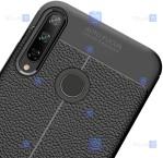 قاب ژله ای طرح چرم هواوی Auto Focus Jelly Case For Huawei P40 Lite E