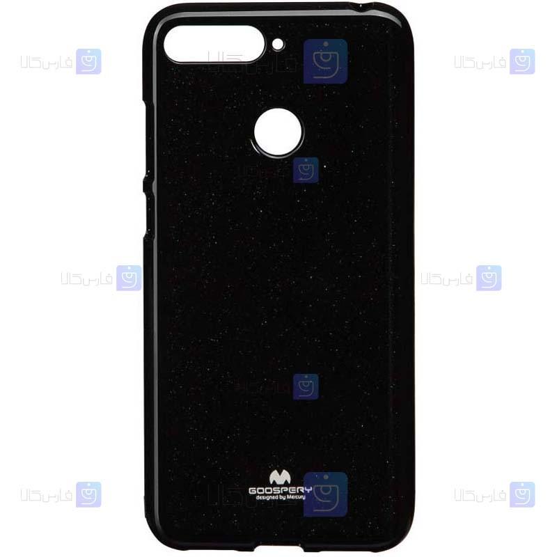 قاب محافظ ژله ای رنگی هواوی Mercury Goospery Jelly Case Huawei Y6 2018