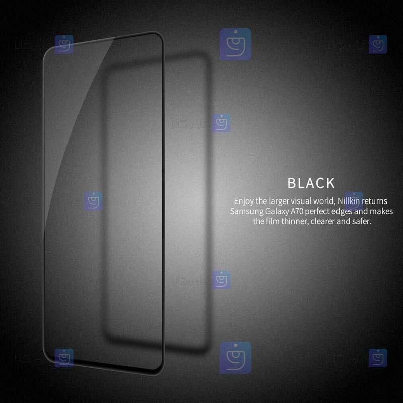 محافظ صفحه نمایش شیشه ای نیلکین سامسونگ Nillkin Amazing CP+ Pro Glass Samsung Galaxy A70s