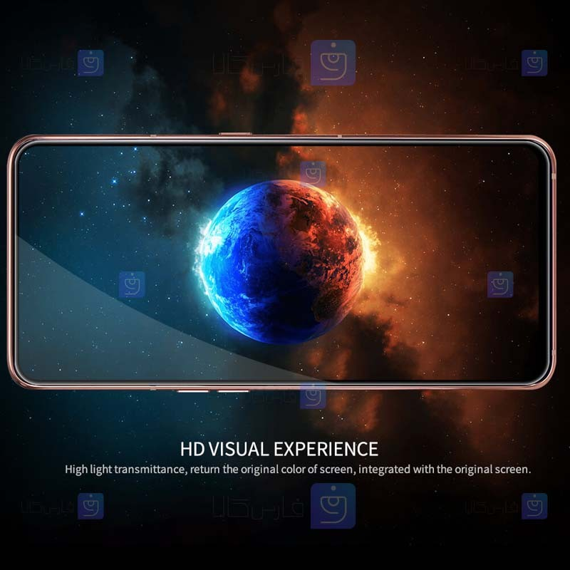 محافظ صفحه نمایش شیشه ای نیلکین سامسونگ Nillkin Amazing CP+ Pro Glass Samsung Galaxy A80