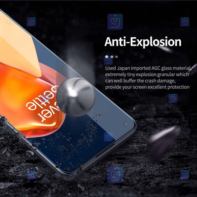 محافظ صفحه نمایش شیشه ای نیلکین وان پلاس Nillkin H+ Pro Glass For OnePlus 9