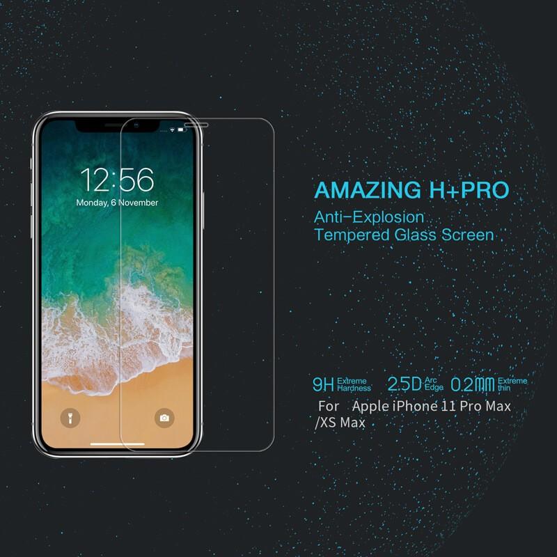 محافظ صفحه نمایش شیشه ای نیلکین سامسونگ Nillkin H+ Pro Glass Samsung Galaxy A72 4G