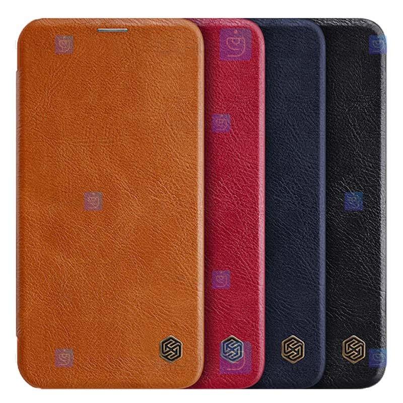 کیف محافظ چرمی نیلکین سامسونگ Nillkin Qin Case For Samsung Galaxy A72