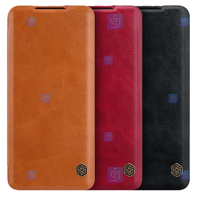 کیف محافظ چرمی نیلکین شیائومی Nillkin Qin Case For Xiaomi Mi 11