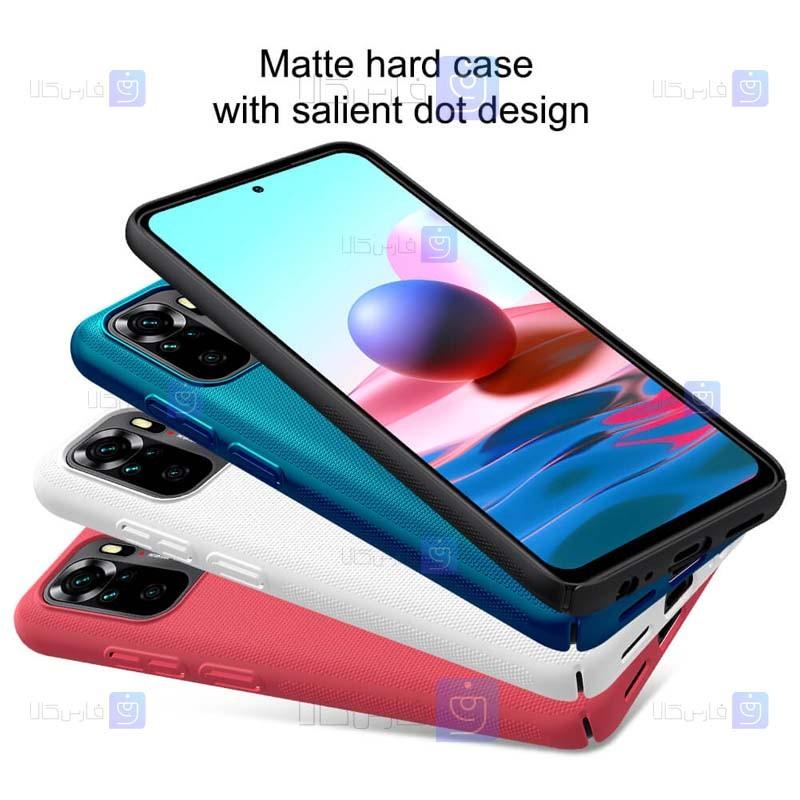 قاب محافظ نیلکین شیائومی Nillkin Super Frosted Shield Case Xiaomi Redmi Note 10 4G