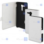 کیف محافظ چرمی مگنت دار گوشی سونی Roxfit Premium Leather Book Cace For Sony Xperia SP