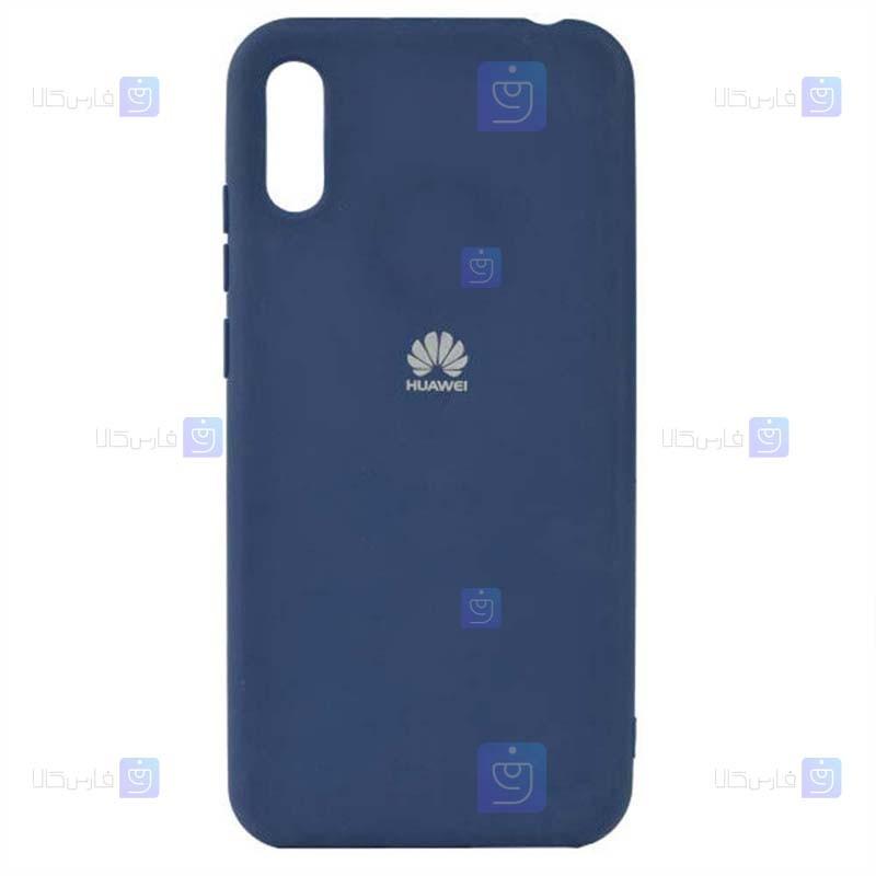 قاب محافظ سیلیکونی هواوی Silicone Case For Huawei Y6 Pro 2019