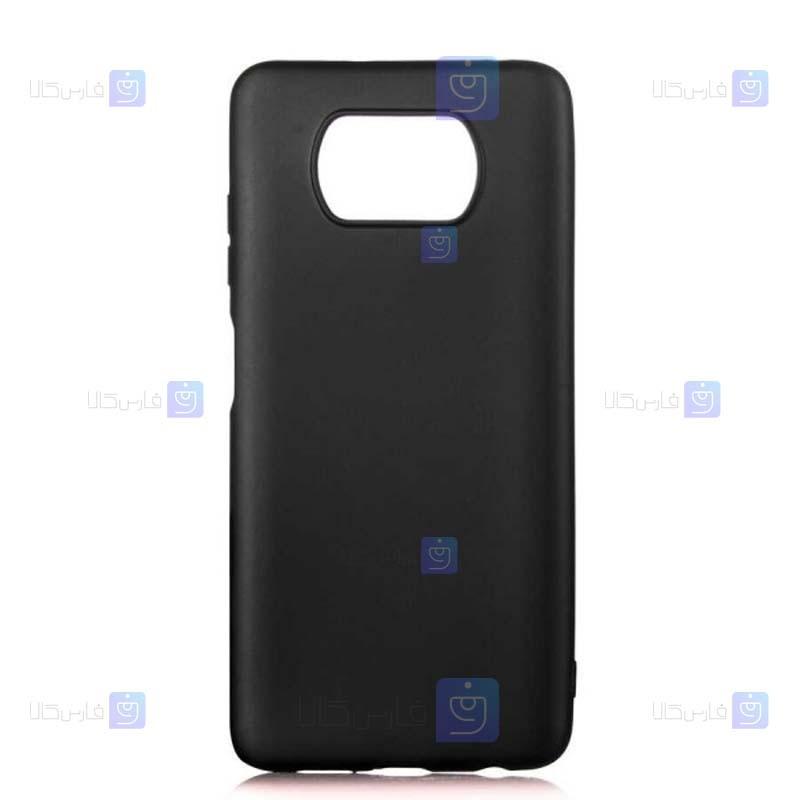 قاب محافظ ژله ای سیلیکونی شیائومی Soft Jelly Silicone Case For Xiaomi Poco X3 NFC
