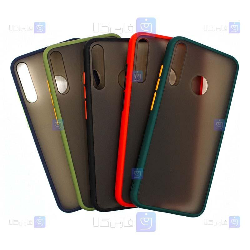 قاب محافظ پشت مات هواوی Transparent Hybrid Case Huawei Y6p