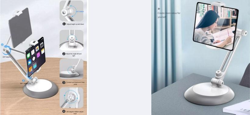 هولدر استندی رومیزی گوشی و تبلت برند باوین Bavin PS-15 Laziest Holder