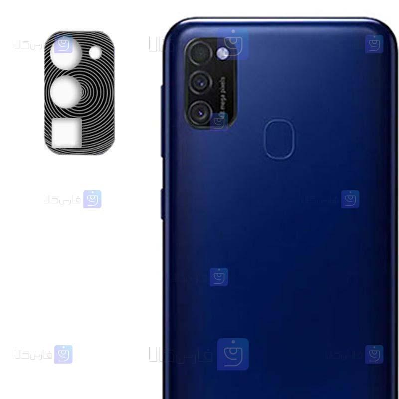 محافظ لنز فلزی دوربین موبایل سامسونگ Alloy Lens Cap Protector For Samsung Galaxy M30s