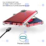 قاب محافظ ژله ای کپسول دار 5 گرمی سامسونگ Clear Tpu Air Rubber Jelly Case For Samsung Galaxy A02s