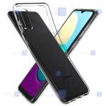 قاب محافظ ژله ای 5 گرمی سامسونگ Clear Jelly Case For Samsung Galaxy A02