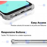 قاب محافظ ژله ای کپسول دار 5 گرمی سامسونگ Clear Tpu Air Rubber Jelly Case For Samsung Galaxy A32 5G