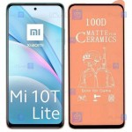 محافظ صفحه نمایش مات سرامیکی تمام صفحه شیائومی Full Matte Ceramics Screen Protector Xiaomi Mi 10T Lite 5G