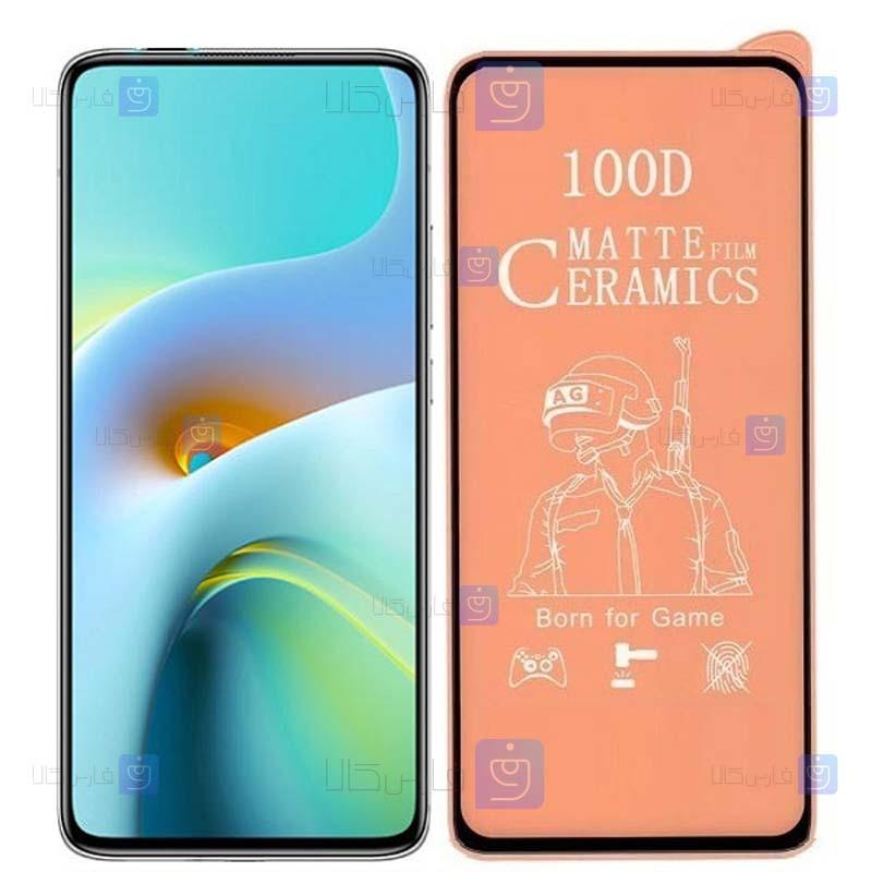 محافظ صفحه نمایش مات سرامیکی تمام صفحه شیائومی Full Matte Ceramics Screen Protector Xiaomi Redmi K30 Ultra