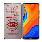 محافظ صفحه نمایش سرامیکی حریم شخصی تمام صفحه هواوی Full Privacy Ceramics Screen Protector Huawei Y6s 2019