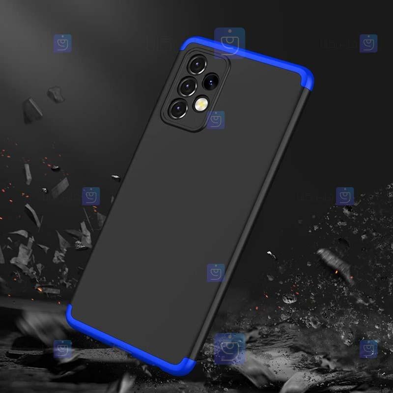 قاب محافظ با پوشش 360 درجه سامسونگ GKK Color Full Cover For Samsung Galaxy A52 5G 4G