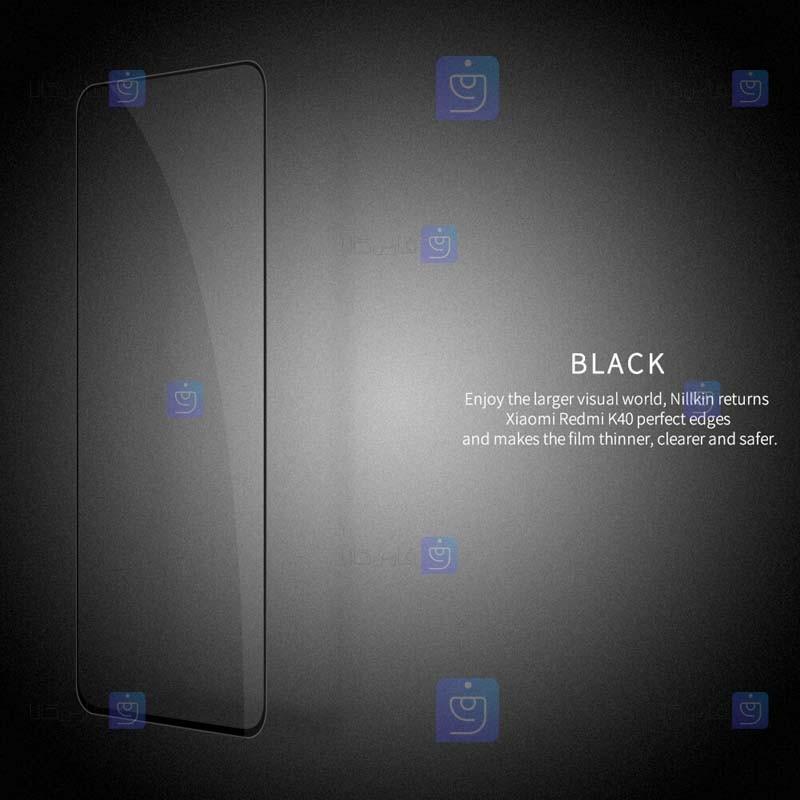 محافظ صفحه نمایش شیشه ای نیلکین شیائومی Nillkin Amazing CP+ Pro Glass Xiaomi Redmi K40 Pro Plus