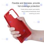 قاب محافظ سیلیکونی نیلکین سامسونگ Nillkin Flex Pure Case Samsung Galaxy S21
