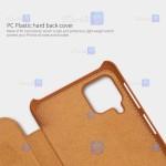 کیف محافظ چرمی نیلکین سامسونگ Nillkin Qin Case For Samsung Galaxy F62