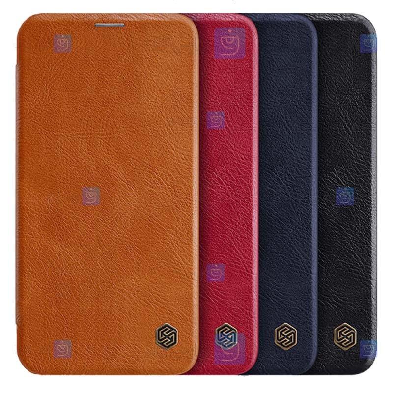 کیف محافظ چرمی نیلکین شیائومی Nillkin Qin Case For Xiaomi Mi 11i