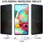 محافظ صفحه نمایش حریم شخصی تمام چسب با پوشش کامل سامسونگ Privacy Full Screen Protector for Samsung Galaxy A72 4G5G