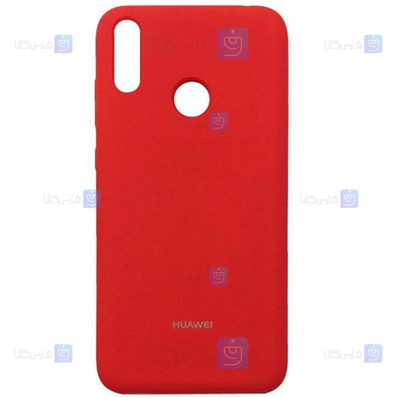 قاب محافظ سیلیکونی هواوی Silicone Case For Huawei Y6s 2019