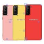 قاب محافظ سیلیکونی سامسونگ Silicone Case For Samsung Galaxy S21