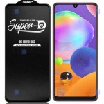گلس گوشی سامسونگ Super D Full Glass Screen Protector For Samsung Galaxy A31