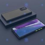 قاب محافظ پشت مات با محافظ لنز سامسونگ Transparent Hybrid Case With Lens Protector Samsung Galaxy A32 5G