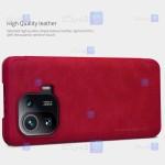 کیف محافظ چرمی نیلکین شیائومی Nillkin Qin case for Xiaomi Mi 11 Pro
