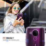 قاب محافظ ژله ای 5 گرمی نوکیا Clear Jelly Case For Nokia 5.4