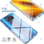 قاب محافظ ژله ای با محافظ لنز شیائومی Clear Jelly Case With lens Protector For Xiaomi Poco X3 Pro