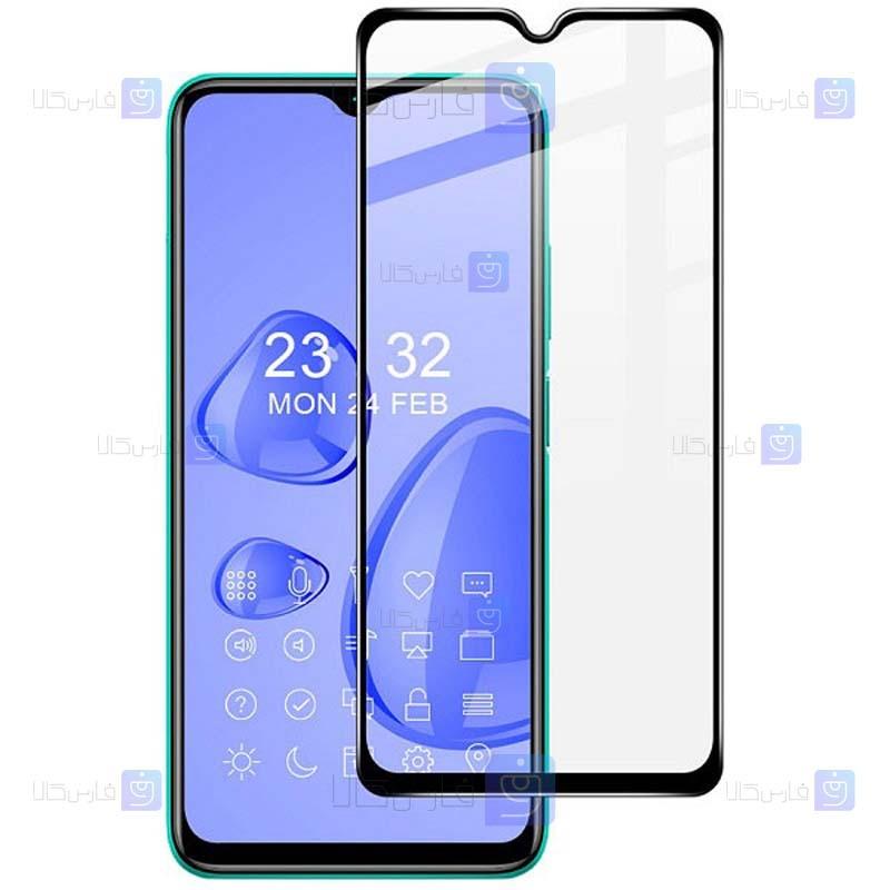 محافظ صفحه نمایش شیشه ای تمام چسب با پوشش کامل شیائومی Full Glass Screen Protector For Xiaomi Redmi Note 9 4G
