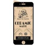 محافظ صفحه نمایش مات سرامیکی تمام صفحه اپل Full Matte Ceramics Screen Protector Apple iphone 6S Plus
