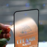 محافظ صفحه نمایش مات سرامیکی تمام صفحه سامسونگ Full Matte Ceramics Screen Protector Samsung Galaxy M10