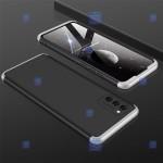 قاب محافظ با پوشش 360 درجه سامسونگ GKK Color Full Cover For Samsung Galaxy A02s