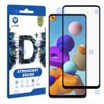 محافظ صفحه نمایش تمام چسب با پوشش کامل لیتو سامسونگ LITO D+ Dustproof Screen Protector For Samsung Galaxy A21s
