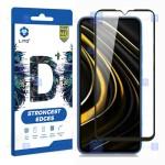 محافظ صفحه نمایش تمام چسب با پوشش کامل لیتو شیائومی LITO D+ Dustproof Screen Protector For Xiaomi Poco M3