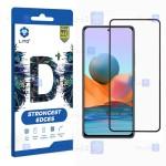 محافظ صفحه نمایش تمام چسب با پوشش کامل لیتو شیائومی LITO D+ Dustproof Screen Protector For Xiaomi Redmi Note 10 4G