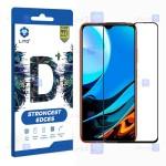 محافظ صفحه نمایش تمام چسب با پوشش کامل لیتو شیائومی LITO D+ Dustproof Screen Protector For Xiaomi Redmi Note 9 4G
