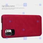 کیف محافظ چرمی نیلکین شیائومی Nillkin Qin Case For Xiaomi Poco M3 Pro