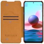 کیف محافظ چرمی نیلکین شیائومی Nillkin Qin case for Xiaomi Redmi Note 10 5G