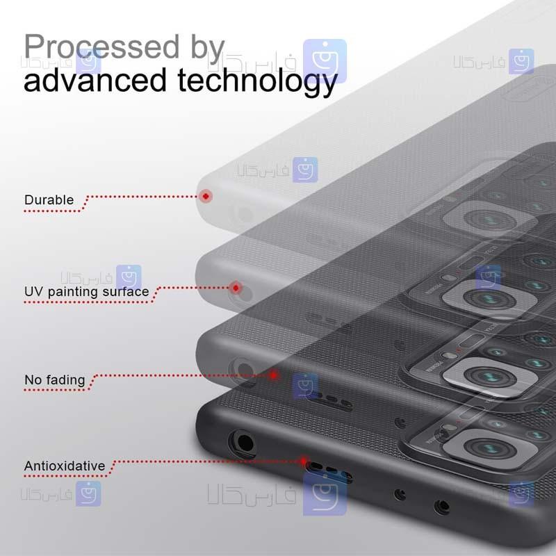 قاب محافظ نیلکین شیائومی Nillkin Super Frosted Shield Case Xiaomi Redmi Note 10 Pro Max