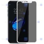 گلس حریم شخصی تمام چسب با پوشش کامل آیفون Privacy Tempered Glass Screen Protector for Apple iPhone Xs