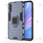 قاب محافظ انگشتی هواوی Ring Holder Iron Man Armor Case Huawei P Smart S