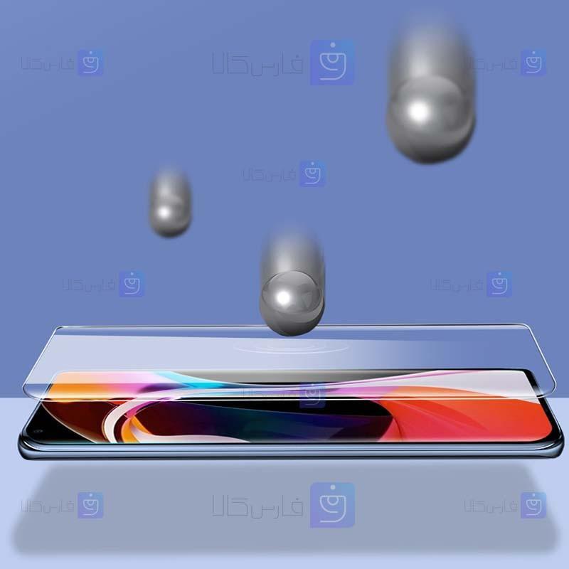 محافظ صفحه شیشه ای تمام صفحه و خمیده یو وی شیائومی UV Full Glass Screen Protector Xiaomi Mi 10S