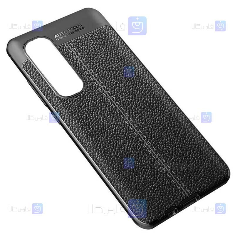 قاب ژله ای طرح چرم شیائومی Auto Focus Jelly Case For Xiaomi Mi Note 10 Lite